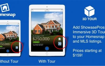 Homesnap – ShowcasePros' 3d Tours; Right Up Front On The APP!